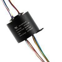 Buy cheap Through Bore Slip Ring, A 12mm Hole Rotary Swivel Joint  For Chip Shooter With A Long Life product
