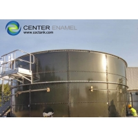 Buy cheap 12mm Bolted Steel Landfill Leachate Tanks AWWA Standard product