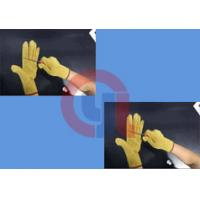 Buy cheap Light Weight Aramid Fiber Gloves / Cut Proof Gloves For Armed Police Operation product