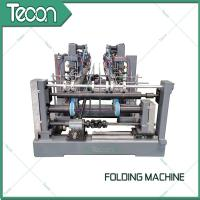 Buy cheap Automatic Valve Paper Bags Sack Folding Machine For 50Kg Cement Bag product