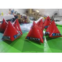 Buy cheap Safety Red Inflatable Marker Buoy 1M / 1.2M / 1.5M Size Easy Operation product