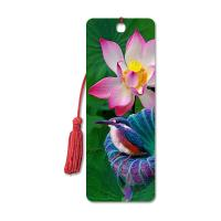Buy cheap High Definition 3D Lenticular Bookmark 6 x 12 cm 4 Colors Customized product