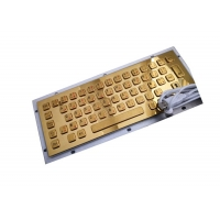 Buy cheap Bilingual 64 Key Military Level Metal Keyboard For Mining Oil product