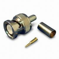 Buy cheap RF Coaxial Connector/ BNC PLUG CRIMP FOR RG58 / CFD200 product