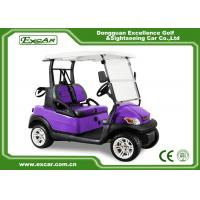 Buy cheap EU CE Certificate Electric Golf Carts 2 Passenger With Trojan Batter from wholesalers