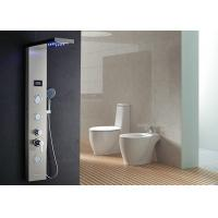 Buy cheap Top Grade 304 Stainless Steel Shower Panel , Shower Panel System With Rain Shower Head product