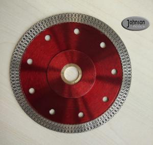 Buy cheap 125mm Sintered Ceramic Tile Saw Blades , Cyclone Mesh Turbo Diamond Blade product
