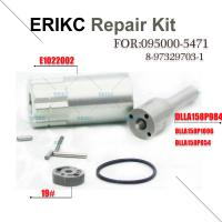 Buy cheap ERIKC denso 095000-5471 diesel injector 8-97329703-1 repair kit DLLA158P1096 nozzle 19# valve plate E1022002 oring product