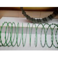 Buy cheap Anti Aging Stainless Steel Razor Wire , Razor Barbed Tape Wire 600MM Diameter product