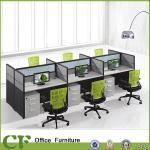 Fashion office work partition/aluminum partition office workstation