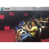 Buy cheap Exciting 7D Cinema System With 6 Chairs Simulating Special Effects And Playing Gun Game product