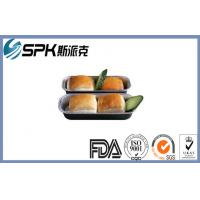 Buy cheap Freezer Disposable Foil Takeaway Containers With Lids , Aluminum Foil Baking Trays product