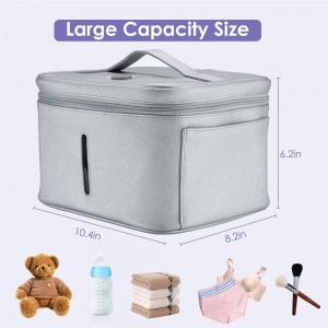 China Home Led Uv Sterilizer Portable Baby Milk Bottle / Underware Sterilization Bag on sale