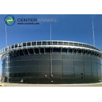 Buy cheap Customized Dark Green Bolted Steel Biogas Storage Tanks product