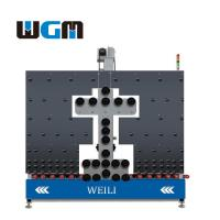 Quality 10KW Glass Processing Machines , Glass Loading Table PLC Control System for sale