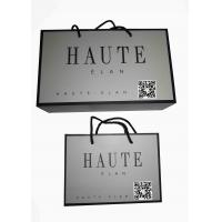 Buy cheap Custom Printed Luxury Shopping Paper Bag with Logo for Clothing Packaging from wholesalers