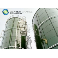 Buy cheap Glass Lined Commercial Water Storage Tanks For Waste Water Treatment Plant product