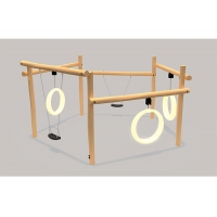 Buy cheap Childrens Plastic EN71 Outdoor Swing Sets For 3-12 Years Old product