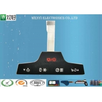 Buy cheap PU Coating Silicone Rubber Overlay PET 0.125mm Circuit Membrane Keypad product