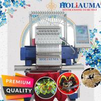 China 2020 single head embroidery machine HO1501N 450*650mm cap t-shirt flat 3d sequin cording computerized embroidery machine on sale
