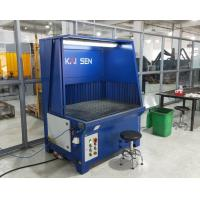Buy cheap Industrial Downdraft Table With Semi-Self-Cleaning Polishing And Grinding Dust Extraction product