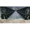 Buy cheap TD Triple / Double Type Bailey Suspension Bridge Modular Steel Panel Bridge product