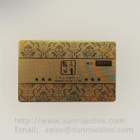 Buy cheap Where to customize your metal etched business cards metal etching name cards product