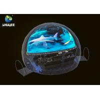 Buy cheap Black Dome Movie Theater Capacity 28 People / 360 Dome Projection product