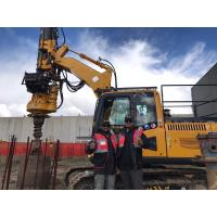 Buy cheap Yellow Hydraulic Piling Rig , Max. Transport Weight 24T KR50A Rotary Drilling Machine from wholesalers