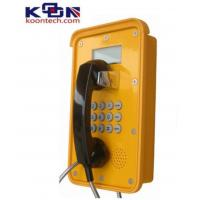 Buy cheap Dual Tone Multi Frequency DTMF Waterproof Telephone VOIP Line Ac Powered product