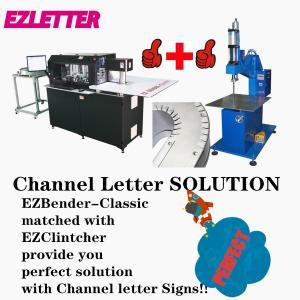 Quality EZCNC Channel Letter Bender-Classic, Sheet Metal BendingMachine auto feeding for sale