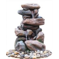 Buy cheap Contemporary Hand Cast Large Rock Fountain For Patios / Aquaria product