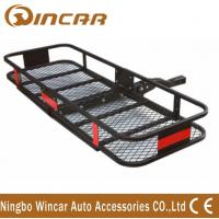 Buy cheap Steel Material Hitch Mount Rear Bike Carrier , Folding Cargo Carrier product
