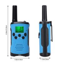 Buy cheap Best price long range battery alert uhf two way radios clear talk outdoor game walkie talkie for children with giftbox product