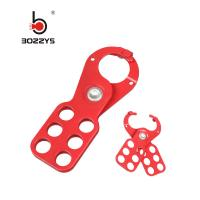 Buy cheap Safety Lockout Hasp 38MM Lock Shackle Diameter With Steel And Nylon PA Material product