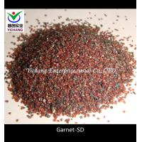 Buy cheap High Hardness Garnet Blasting Media 20/40 30/60 for shotblasting media product