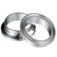Buy cheap Welding 4 Inch 6 Inch Tri Clamp Sanitary Fittings  12.7MM CNC Machine Forged product