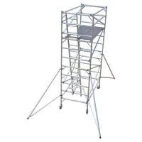 Buy cheap Construction Folding Aluminium Scaffold Tower Complied With EN 1004 Standards product