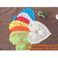 free crochet round tablecloth patterns images - free crochet round