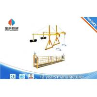 Quality 2 * 2.2kw Suspended Access Platforms ZLP1000 Lifting Speed 8 - 10 m / min for sale