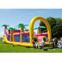 Buy cheap Commercial Grade Inflatable Obstacle Race Course Bounce House With Repair Kit product