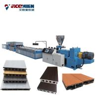 Buy cheap Plastic Molding WPC Profile Machine , WPC Production Line Making Baluster Railing product