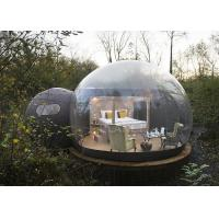 Buy cheap Crystal Inflatable Bubble Tent House Dome 3M / 4M / 5M Size CE Approved product