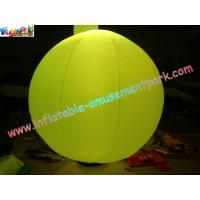 Buy cheap 2 Meter Colorful Pvc Inflatable Wedding Tent Lights Ball For Stage Exhibition product