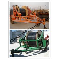 Buy cheap pictures cable trailer,cable drum table, new type Cable Conductor Drum Carrier product