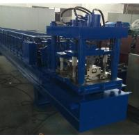Quality Manual Decoiler Shutter Roll Forming Machine 40GP Container , Cold Roll Forming Machine for sale