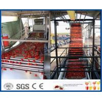Buy cheap 200KW Power Tomato Ketchup Machine Tomato Processing Machine 304 Stainless Steel Material product