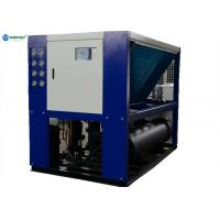 Buy cheap High Efficient 40hp (-5C) Glycol Water System Milk Air Cooled Water Chiller product