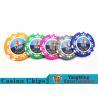 Buy cheap High Precision Casino Poker Chip Set / Poker Table Set For Gambling Games product