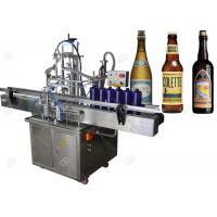 Buy cheap High Speed Automatic Beer Bottling Machine , Glass Bottle Filling Machine from wholesalers